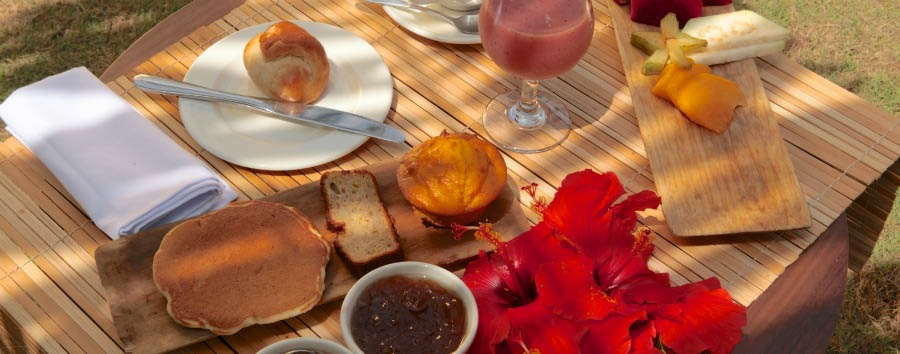 Omali Lodge Luxury Hotel - Breakfast