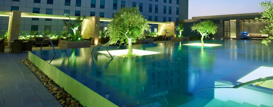 Aloft Abu Dhabi - Splash Pool