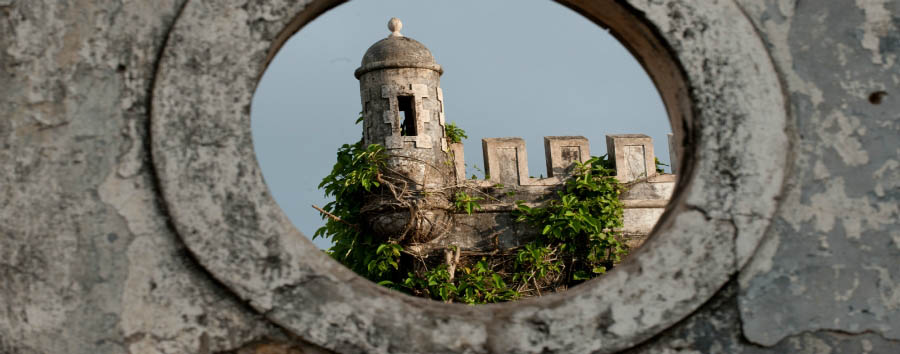 São Tomé & Princípe - Old Stone Castle