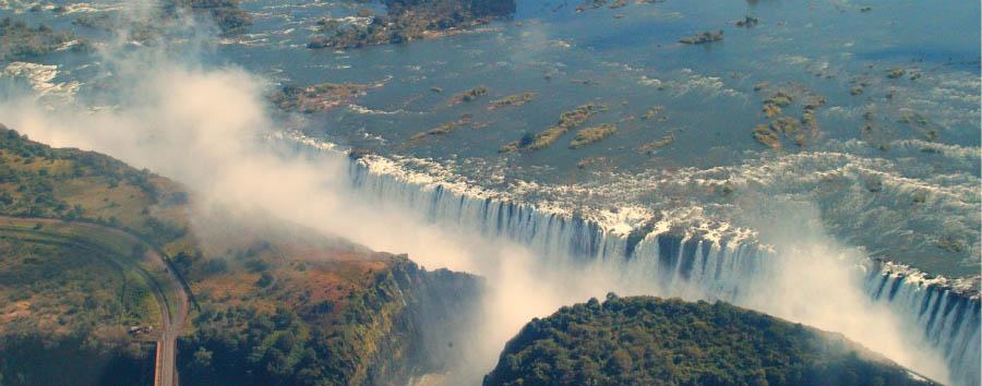 Cape Town, Kruger e Victoria Falls - Zimbabwe Victoria Falls, Aerial View