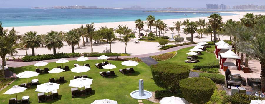 The Ritz-Carlton, Dubai - The beach