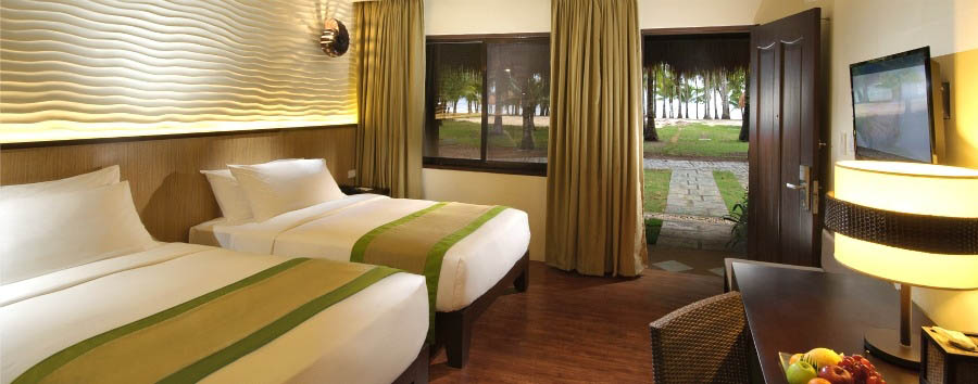 South+Palms+Resort+Panglao+-+Deluxe+Garden+View+Bedroom