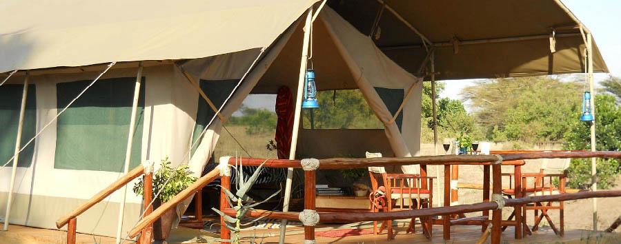 Mara Eden Safari Camp - Tent exterior