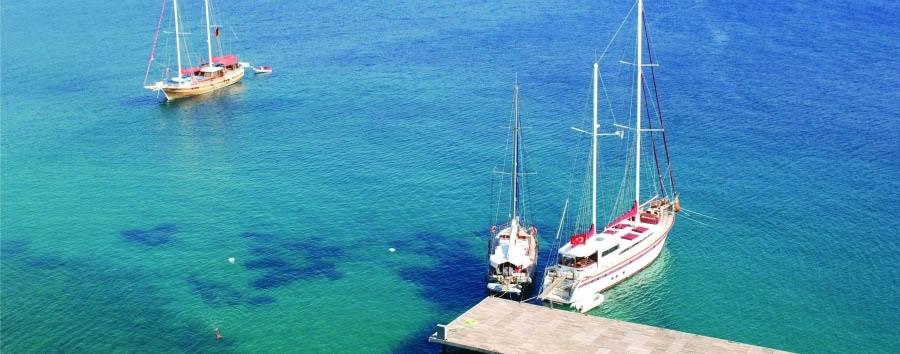Kempinski Barbaros Bay - Beautiful sea view