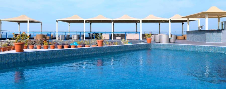 Park Inn Hotel Muscat - Pool view