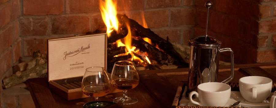 Arusha Coffee Lodge - Fireplace