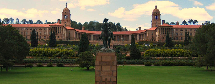 South Africa - The Union Building in Pretoria