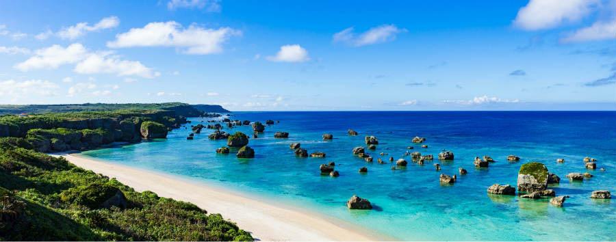 Mare a Okinawa: Main Island - Japan Okinawa seascape © Shutterstock