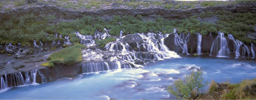 La vita segreta di Walter Mitty - Iceland Hraunfossar Falls - Courtesy of Iceland Travel