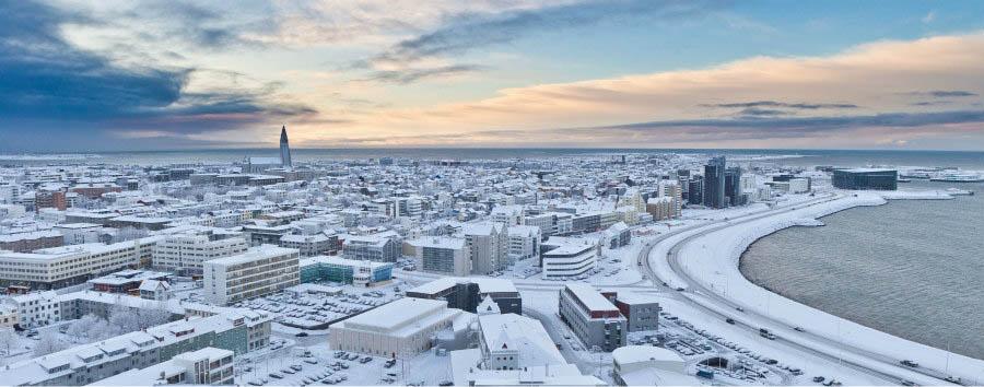 Islanda, natura e aurora boreale - Iceland Reykjavik in Winter © Visit Iceland