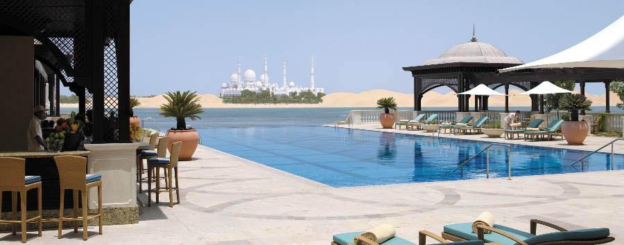 Shangri-La Qaryat Al Beri  - Pool area