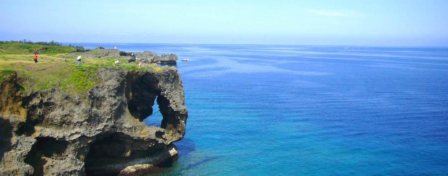 Okinawa: il Pacifico nascosto - Japan Okinawa, Manzamo Cliff