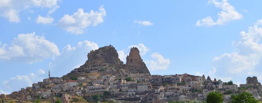 Cappadocia da vivere  - Turkey, Cappadocia Üçhisar Fortress