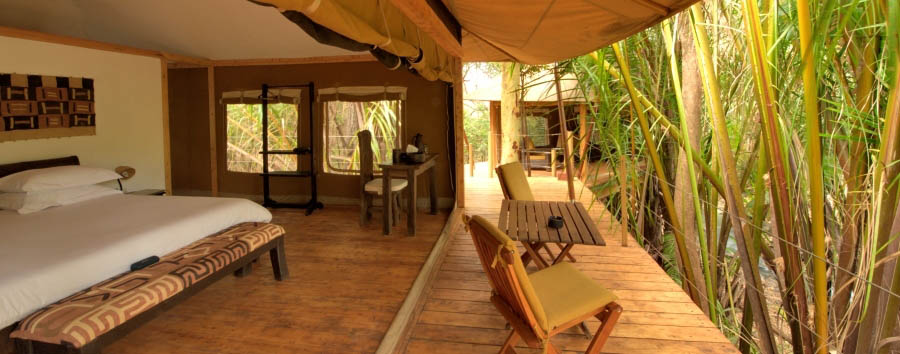 Rhino River Camp - Your luxury cottage