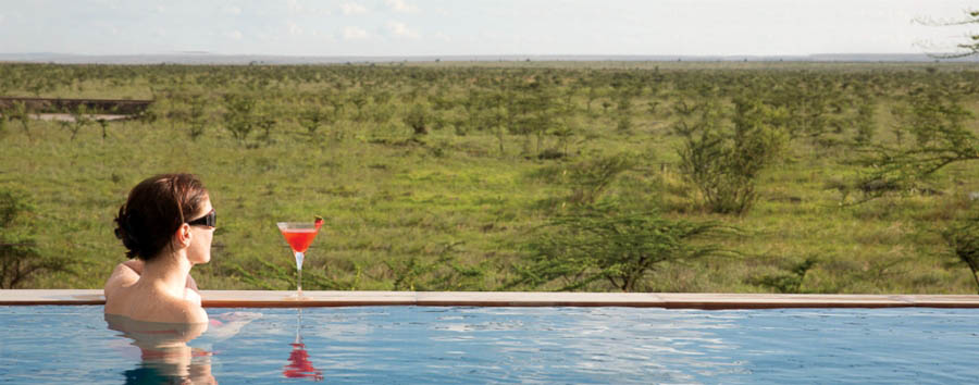 Ole Sereni - Infinity pool view