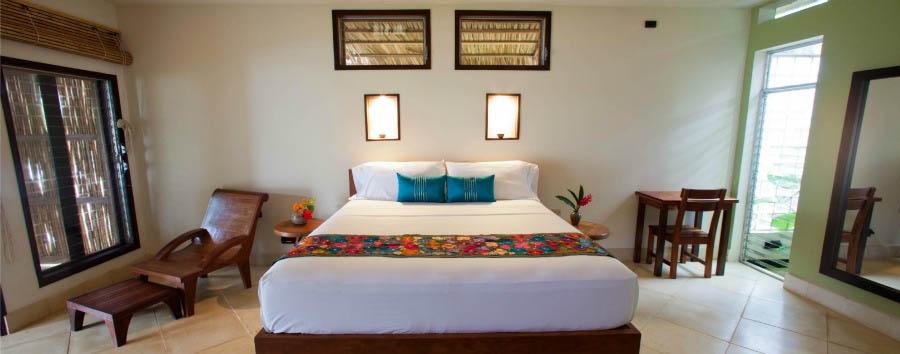 Mare a Yemaya - Nicaragua Yemaya Island Hideaway & Spa, Double Room Bungalow Interior