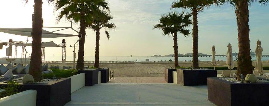 Dubai, mare a Meydan Beach - Dubai Meydan Beach © Rob Young