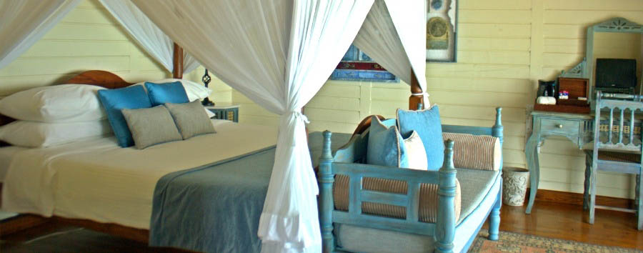 Mozambique - Anantara Medjumbe Island Resort & Spa, Beach Pool Villa Bedroom