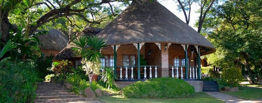 The Stanley & Livingstone at Victoria Falls -