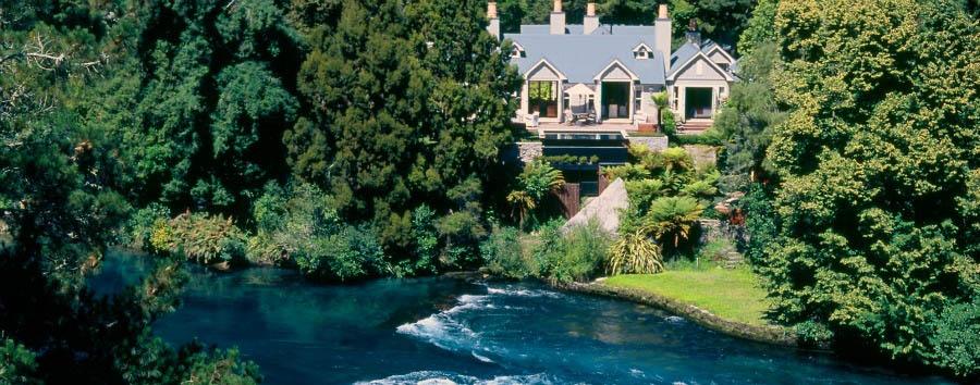 New Zealand Escape - New Zealand Huka Lodge View