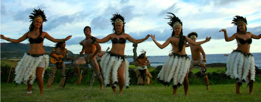 Easter Island - Traditional dance