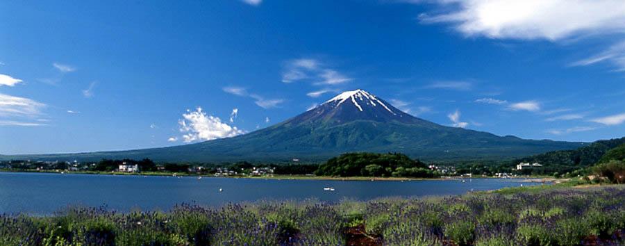 Giappone, il lago Kawaguchi - Japan Mount Fuji