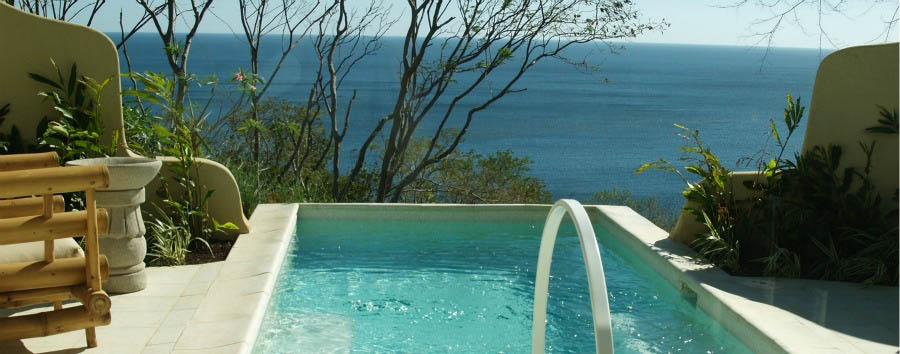 Nicaragua - Mukul Beach, Golf & Spa, View from The Swimming Pool