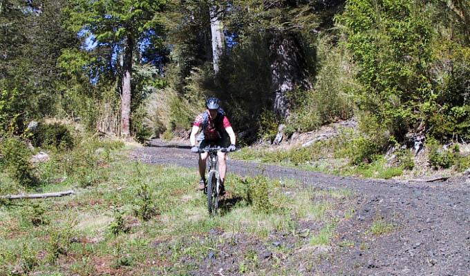 Huilo Huilo, Mountain Bike - Chile