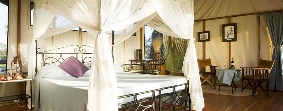 Maramboi Tented Lodge - Kingsize Bed