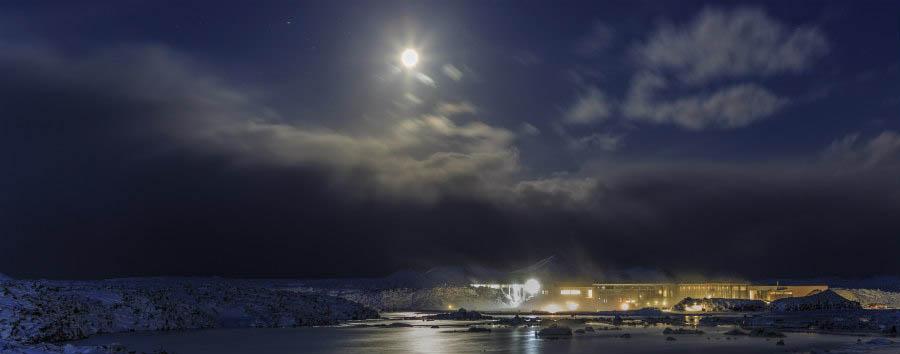 Islanda, natura e aurora boreale - Iceland Blue Lagoon at Night - Courtesy of Iceland Travel