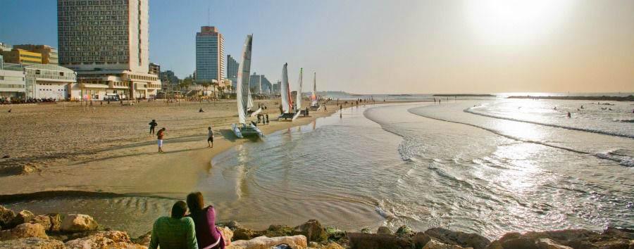 Tel Aviv City Break - Israel Tel Aviv Sea Shore