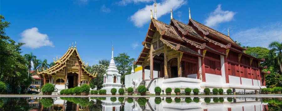 Thailandia Classica - Thailand Wat Phra Sing Temple of Chiangmai Thailand © PunyaFamily/Shutterstock