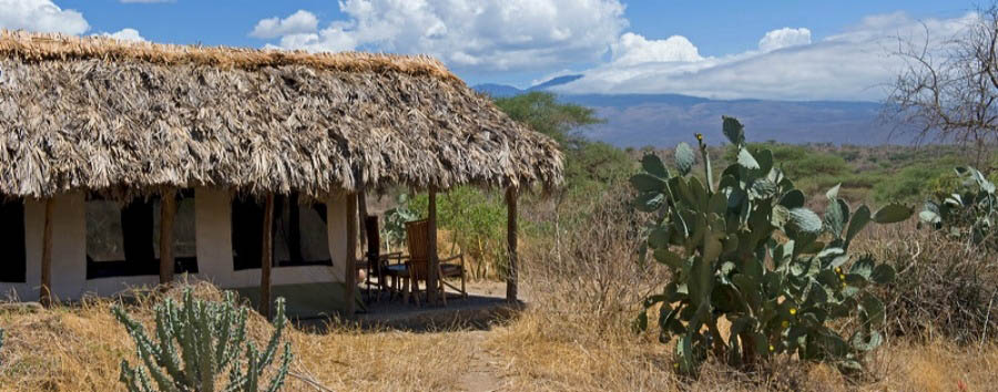 Tindiga Tented Camp - View