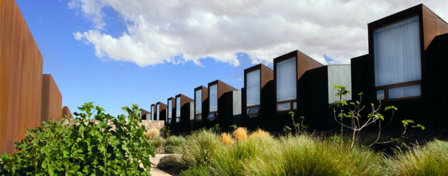 Chile - Tierra Atacama Hotel & Spa architecture