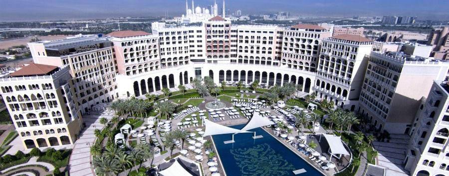 Mare ad Abu Dhabi - Abu Dhabi Ritz-Carlton Abu Dhabi Grand Canal, Aerial View
