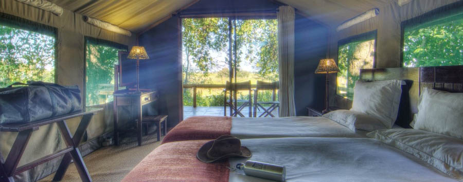 Camp+Okavango+-+Tent+Interior