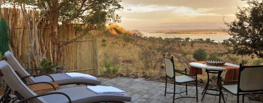Ngoma Safari Lodge - Private seating area