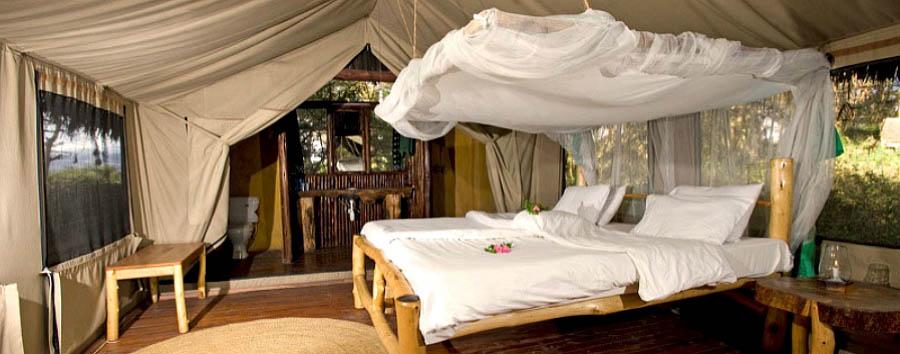 Moivaro Migunga Tented Camp - Tent interior view