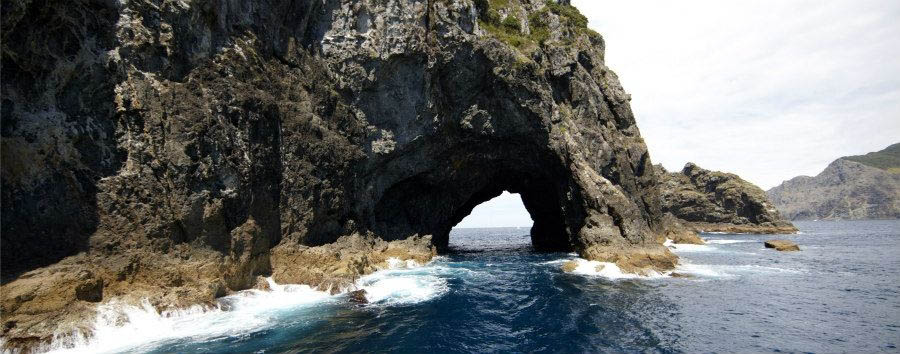 Nuova Zelanda, le stelle del nord - New Zealand Bay of Islands, Hole in The Rock © InterCity group/Tourism New Zealand