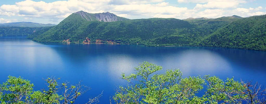 Giappone, la magia di Hokkaido  - Japan Landscape of the lake Mashu