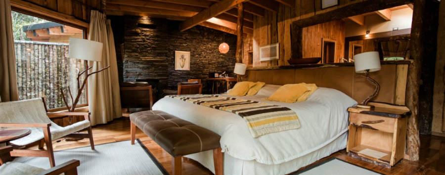 Huilo Huilo: la foresta delle fate - Chile Huilo Huilo, Nawelpi Lodge Suite