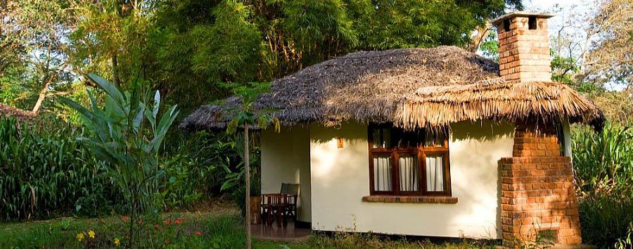 Tanzania Wildlife & Cultural Explorer - Tanzania Thatched Hut in the Moivaro Migunga Lodge