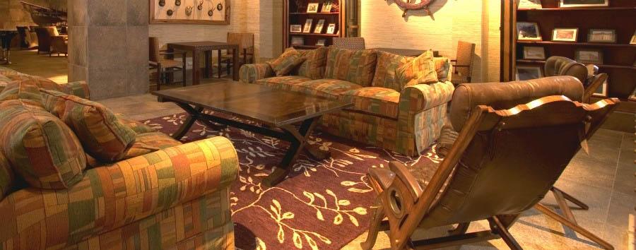Cabo de Hornos Hotel - Reading Room
