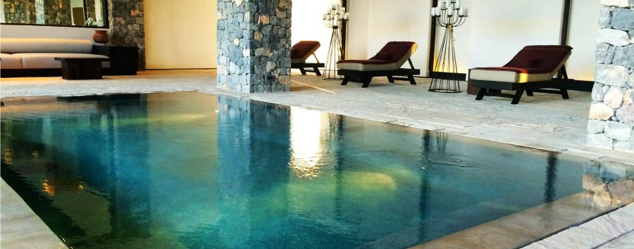 Alila Jabal Akhdar - The indoor pool
