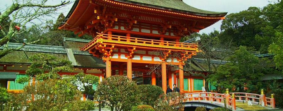 Japan - Kyoto, Kamigamo Shrine, UNESCO World Heritage Site
