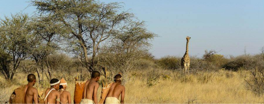 Il volto segreto del Botswana - Botswana Kalahari Desert, San People Experience