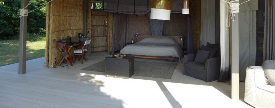 Chinzombo Lodge - Bedroom view