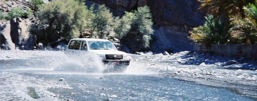 L'essenza dell'Oman - Oman Crossing Wadi Ghul