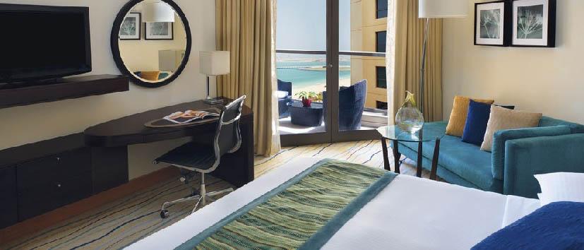 Dubai, mare a Jumeirah Beach - Dubai Mövenpick Jumeirah Beach Hotel, Superior Partial Sea View Room