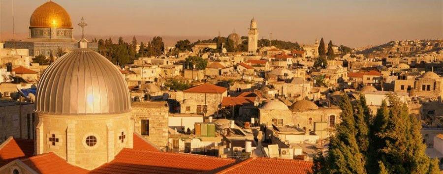Jerusalem City Break - Israel, Jerusalem The Old City at Sunset